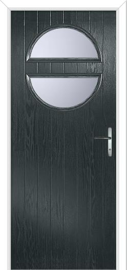 grey door design