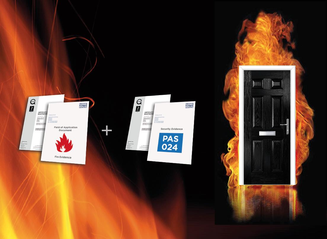 FD30s Composite Fire Door