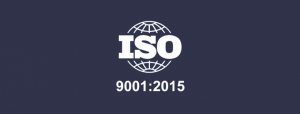 ISO 900:2015 Certification