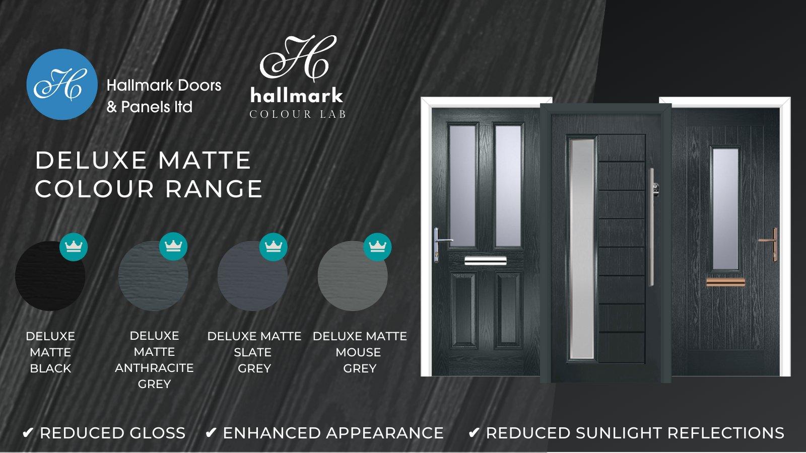 matte matt finish paint composite doors
