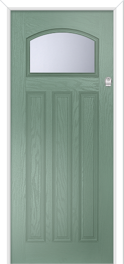 Chartwell Green 1920s 1930s 1950s Composite door