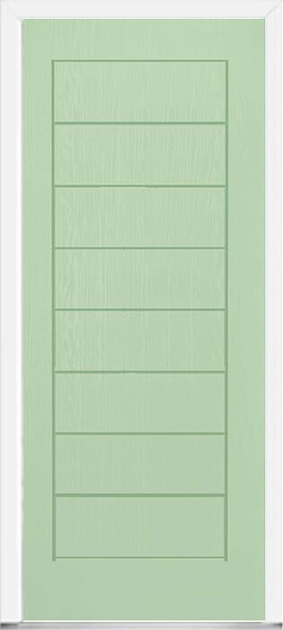 Green Modern Composite Door